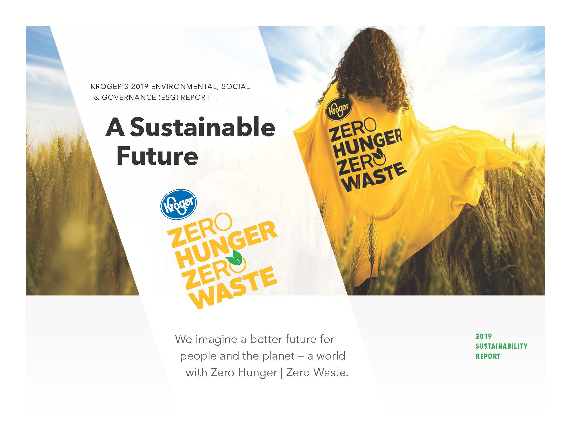 Sustainability The Kroger Co
